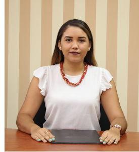 Lic. Katherine Fuentes, Secretaria de Extensión